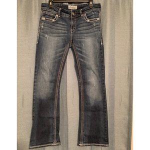 Daytrip 30R Virgo Bootcut Distressed Jeans
